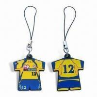 Wholesale Mobile Phone Pendants/Novelties with Strap, Customized Logos are Accepted from china suppliers