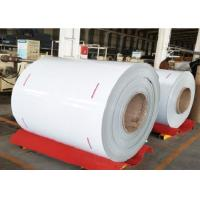Buy cheap PE PVDF Painted Aluminium Coil 3003 1050 1100 1060 White Aluminum Coil For Rain Gutter from wholesalers