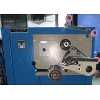 Buy cheap 330mm Limit Cotton Thread Winding Machine , Textile Thread Spool Winder from wholesalers
