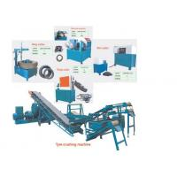 Wholesale Rubber Powder Tyres Recycling Machine 400 KW High Output Customized from china suppliers