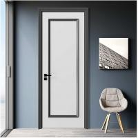 Wholesale Simple Design Wooden House Doors / Custom Wood Interior Doors 1100mm Max Width from china suppliers