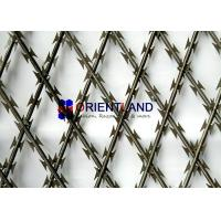 Buy cheap High Tensile Core Security Razor Wire Fence 0.45mm Blade Thickness Difficult To Cut from wholesalers