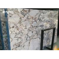 Buy cheap Galaxy Blue Marble Natural Stone Slabs 18mm Highly Polished Moisture Resistant from wholesalers