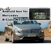 Buy cheap Mercedes benz B class mirror link android car navigation 8 or 16 GB ROM NTG 4.5 from wholesalers