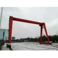Buy cheap Small Windward Surface 18T Electric Hoist Gantry Crane For Sale from wholesalers