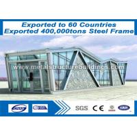 Wholesale Light Weight Structural Steel Beam Building , Big Steel Buildings CE Mark from china suppliers