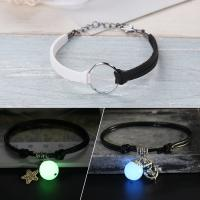 Buy cheap Lastest brass design simple white black leather bracelet bangle with shine ball charms from wholesalers