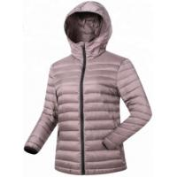 Buy cheap Basic Style Ultra Light Down Jacket , Insulated Ladies Down Winter Coats from wholesalers