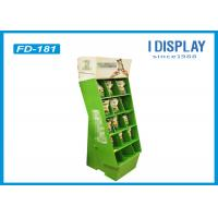 Buy cheap Portable Retail Cardboard Displays , Dogs Food Merchandising Displays Stands from wholesalers