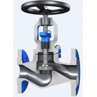 Buy cheap Through Conduit Pattern Flanged Globe Valve Full Opening with ASTM A 216 Material from wholesalers