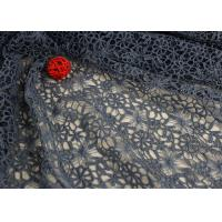 Buy cheap Flower Dying Lace Fabric Water Soluble Polyester Guipure Lace Fabric By The Yard from wholesalers