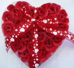 Wholesale soap flower, bath flower soap, paper flower soap, rose flower soap,promotion gift from china suppliers