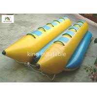 Buy cheap Customized PVC Tarpaulin Inflatable Banana Boat / Fly Fishing Boat Inflatable 2.1m from wholesalers