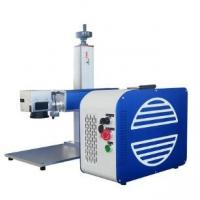 Buy cheap Fiber Color Pigeon Ring Laser Marking Machine Plastic Tag Portable Engraver Machine from wholesalers