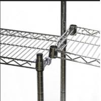 Buy cheap Shelf Connection Hook For Add On Wire Shelving Units Style Selections Shelving Accessorie from wholesalers
