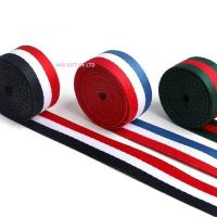 Wholesale IMKGIFT Make in custom ribbon , neckstrap , lanyard ,blue/whie/red ribbon , medal ribbon in red white black from china suppliers