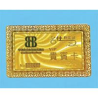 Gold & Silver PVC Card Manufactures