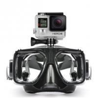 Buy cheap Flexible Adult Diving Mask Anti - Fog Liquid Silicone Strap with  Camera Gopro from wholesalers