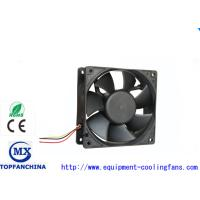 120mm X 120mm X 38mm Waterproof Radiator Fan For Medical / Industry / Home Appliance Manufactures