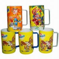 Buy cheap Promotional Puzzle Mugs, Customized Logos are Accepted, Non-toxic and Environment-friendly from wholesalers