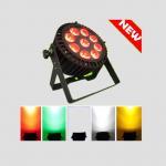 Buy cheap stage Par Lights 9pcsX 15w RGBWA 5IN1 Waterproof Par dmx controller par64 for building hot from wholesalers