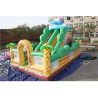 Wholesale 2015 inflatable game toys used playground slides for sale, inflatable slide from china suppliers