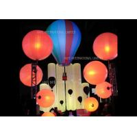 Buy cheap Floating Advertising Inflatable Lighting Decoration Balloon 800 Watt Used On Water from wholesalers