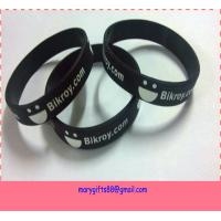 Buy cheap cheap price europe custom silicone wristbands from wholesalers