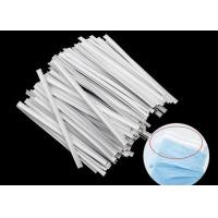 Quality Single Metal Disposable Masks 3mm Plastic Nose Wire for sale