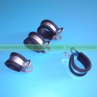 Buy cheap rubber cushion clamp rubber hose clamp rubber pipe clamp ,wire clamps,hose clips,heavy duty clamp,P clamp,R type clamp, from wholesalers