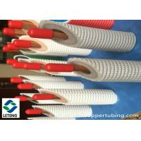Buy cheap 15mm Outside Dia Thick Copper Pipe , 275 Mpa Ultimate Strength Refrigerator Copper Tubing from wholesalers