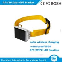 Buy cheap 2016 newest mini solar powered cow gps tracker best price for big animal rf-v26 from wholesalers