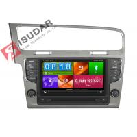 Buy cheap Mirror Link VW Golf Dvd Player , Volkswagen Touch Screen Radio Support Steering Wheel Control from wholesalers