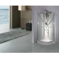 Buy cheap Cambered Free Standing Shower Cabins 2050 Height With Mutifunctional Shower Panel from wholesalers