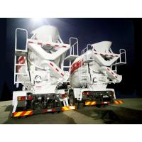 Buy cheap 10 Cubic Meter Concrete Mixer Truck , Fast Feed Rate Ready Mix Truck Durable from wholesalers