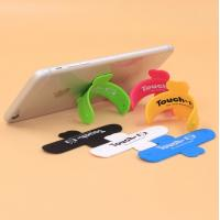 Buy cheap Cheap Touch U-Shape Cell Phone Stand Holder / 3M Sticker Silicone Mobile Phone Stand,Accept Logo Print from wholesalers