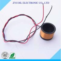 Buy cheap Self-bonding Wireless Charger Coil / Radio Frequency Coil With Bobbin from wholesalers