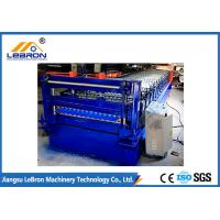 Buy cheap 22 Stations Corrugated Sheet Roll Forming Machine , Full Automatic Corrugated Roofing Machine from wholesalers