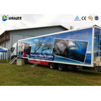 Wholesale 7D Mobile car cinema with motion chair and more special effects from china suppliers