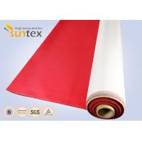 Buy cheap Fireproof High Temperature Resistant Durable Polyurethane Coated Fiberglass Fabric Cloth from wholesalers