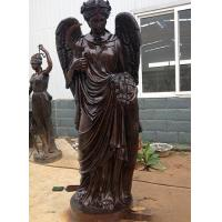 Buy cheap Excellent 100% casting bronze angel sculpture product