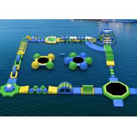 Buy cheap Waterproof Tarpaulin Inflatable Floating Water Park Equipment For Rental / Festival Activity from wholesalers