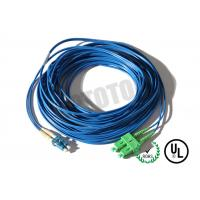 Wholesale Dark Blue Jacket, LC-SC Connector Fiber Patch Cord, SM OS2 BI, 2 Fiber Zip 2mm OFNR from china suppliers