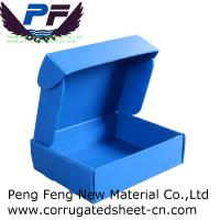 Buy cheap 2-12mm white/yellow/blue/green color cheap price PP Corrugated Plastic Storage Box for packing industry from wholesalers