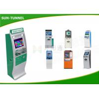 Buy cheap Dual Screen Internet Card Dispenser Kiosk Prepaid Mastercard Robust Metal Housing from wholesalers