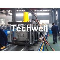 Buy cheap Steel Sheet Upright Rack Roll Forming Machine for Storage Shelf Profile from wholesalers