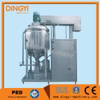 Buy cheap 1000-2000L Vacuum Homogenizer Mixer , Toothpaste MixerMaking Machine 220V/380V from wholesalers