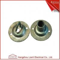 China 20mm Steel Conduit Junction Box Electrical Galvanized Lid Extension Ring , OEM service on sale