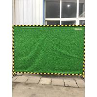 Buy cheap Current Popularity 360gsm PVC Green Planting Wall For Construction Site from wholesalers