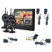 Buy cheap 7 inch 4CH digital ip wireless security camera with DVR system and video from wholesalers